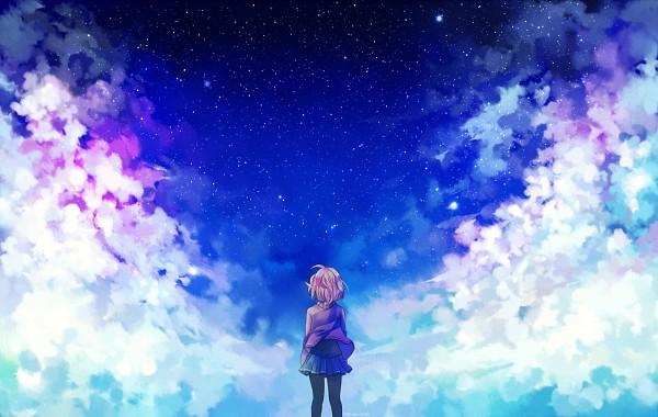 Tags: Anime, Yue-ki, Kyoukai no Kanata, Kuriyama Mirai, Fanart From DeviantART, PNG Conversion, deviantART, Fanart