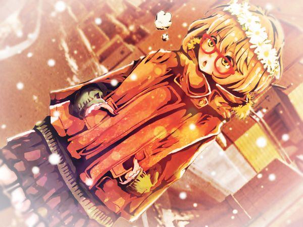 Tags: Anime, Pixiv Id 3588898, Kyoukai no Kanata, Kuriyama Mirai, PNG Conversion, Wallpaper