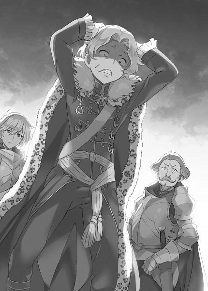 Tags: Anime, Mutsumi Masato, Kuro no Senki (Saitou Ayumu), Official Art, Character Request, Novel Illustration