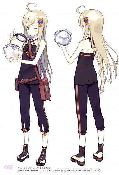 Tags: Anime, Kuroboshi Kouhaku, GRANADA LEVEL P, Magnifying Glass, Mobile Wallpaper, Scan