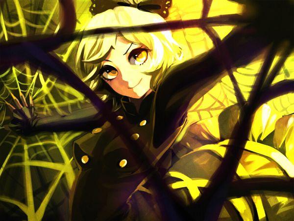 Tags: Anime, Yuura, Touhou, Kurodani Yamame, Pixiv, Fanart, Fanart From Pixiv, Yamame Kurodani