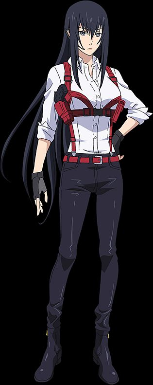 Kurokami Marie - Lord of Vermillion: Guren no Ou