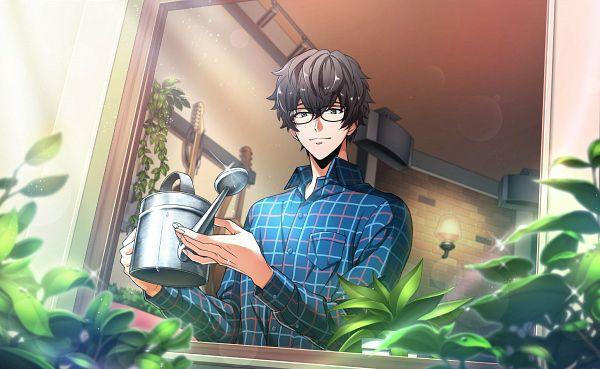 Tags: Anime, Argonavis from BanG Dream! AASide, Kurokawa Tomoru, Watering Can, Official Card Illustration, Official Art, Plants