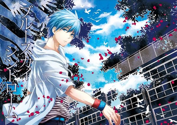 Tags: Anime, Sumeragi Sora, Kuroko no Basuke, Kuroko Tetsuya, Doujinshi Cover, Pixiv, Fanart
