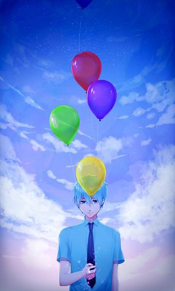 Tags: Anime, Rowya, Kuroko no Basuke, Kuroko Tetsuya, Mobile Wallpaper, Pixiv