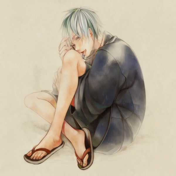 Tags: Anime, Pixiv Id 6856462, Kuroko no Basuke, Kuroko Tetsuya, Ring Necklace, Fanart, Fanart From Pixiv, Pixiv