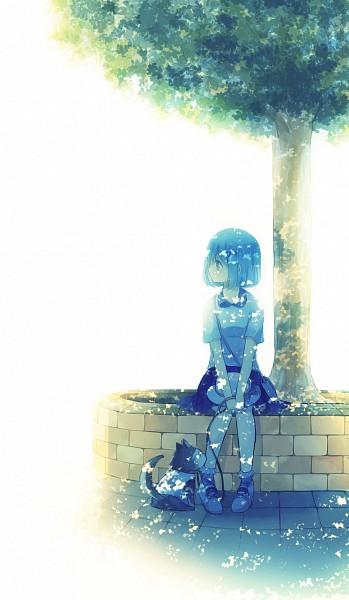 Tags: Anime, Namiri, Kuroko no Basuke, Tetsuya No.2, Kuroko Tetsuya, Fanart From Pixiv, Mobile Wallpaper, Pixiv, Fanart