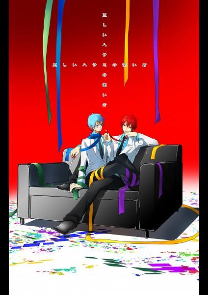 Tags: Anime, Pixiv Id 41089, Kuroko no Basuke, Akashi Seijuurou, Kuroko Tetsuya, School Uniform (Teikou Middle School), Mobile Wallpaper, Fanart From Pixiv, Pixiv, Fanart