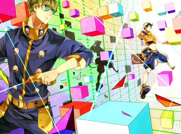Tags: Anime, Ichiiro Hako, Kuroko no Basuke, Takao Kazunari, Midorima Shintarou, Cubos, Shuutoku High, Kuroko's Basketball
