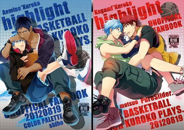 Tags: Anime, Matsuo Shin, Kuroko no Basuke, Tetsuya No.2, Aomine Daiki, Kagami Taiga, Kuroko Tetsuya, Kuroko's Basketball