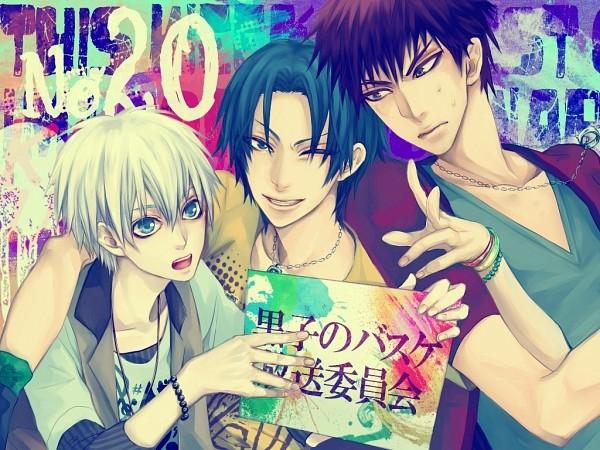 Tags: Anime, Pixiv Id 4040383, Kuroko no Basuke, Kagami Taiga, Kuroko Tetsuya, Takao Kazunari, Ring Necklace, Fanart From Pixiv, Pixiv, Fanart, Kuroko's Basketball