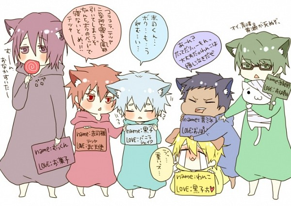 Tags: Anime, Pixiv Id 2646951, Kuroko no Basuke, Midorima Shintarou, Akashi Seijuurou, Aomine Daiki, Murasakibara Atsushi, Kuroko Tetsuya, Kuroko's Basketball