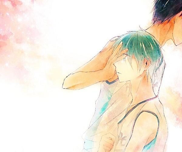 Tags: Anime, Pixiv Id 4449430, Kuroko no Basuke, Aomine Daiki, Kuroko Tetsuya, Sokkuridane, Pixiv, Kuroko's Basketball