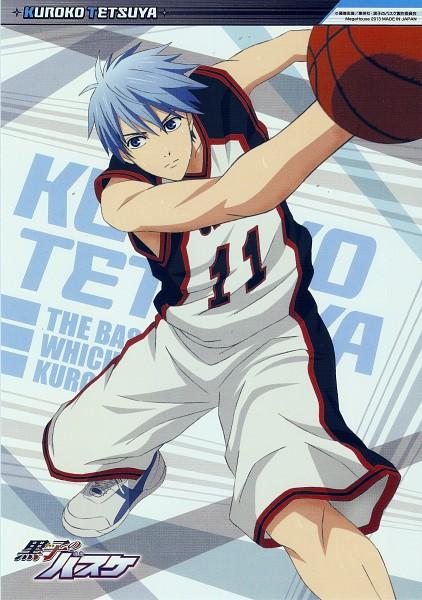 Tags: Anime, Kikuchi Youko, Kuroko no Basuke, Kuroko Tetsuya, Mobile Wallpaper, Scan, Official Art, Kuroko's Basketball