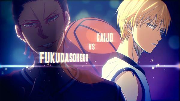 Tags: Anime, Pixiv Id 4527628, Kuroko no Basuke, Haizaki Shougo, Kise Ryouta, Wallpaper, Kuroko's Basketball