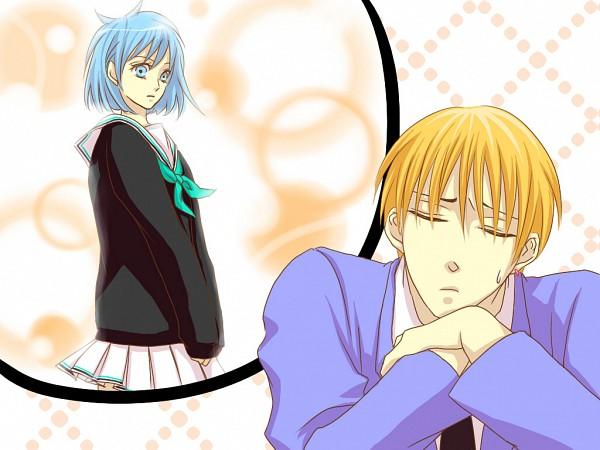 Tags: Anime, Kairi113, Kuroko no Basuke, Kuroko Tetsuya, Kise Ryouta, Imagination, Pixiv, Wallpaper, Fanart, Fanart From Pixiv