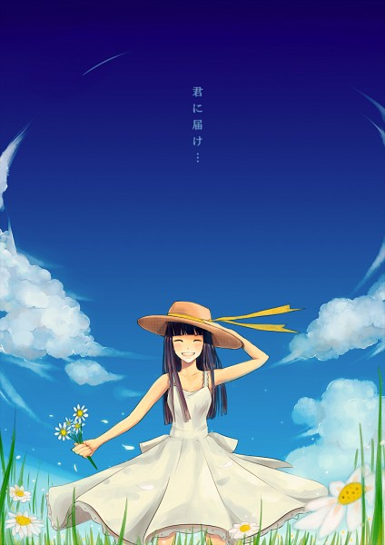 Tags: Anime, Reira (Zetalatte), Kimi ni Todoke, Kuronuma Sawako, Pixiv, Mobile Wallpaper, Fanart