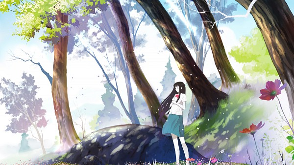 Tags: Anime, Kikurin, Kimi ni Todoke, Kuronuma Sawako, Wallpaper, Fanart, Pixiv, Facebook Cover