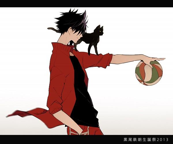 Tags: Anime, Pixiv Id 2385584, Haikyuu!!, Kuroo Tetsurou, Volleyball Ball, Fanart From Pixiv, Pixiv, Fanart