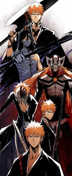 Tags: Anime, Pixiv Id 4746932, BLEACH, Kurosaki Ichigo, Hollow Ichigo, Mugetsu (BLEACH), Fanart From Pixiv, Fanart, Pixiv, Ichigo Kurosaki