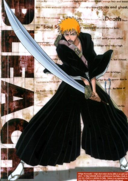 Tags: Anime, BLEACH, Kurosaki Ichigo, Official Art, Ichigo Kurosaki