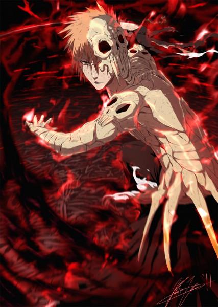 Tags: Anime, Kevin Luo, BLEACH, Kurosaki Ichigo, Mobile Wallpaper, deviantART, Ichigo Kurosaki