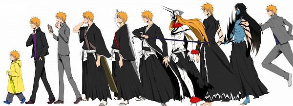 Tags: Anime, Mochiko (Id=1890555), BLEACH, Hollow Ichigo, Kurosaki Ichigo, Mugetsu (BLEACH), Ichigo Kurosaki
