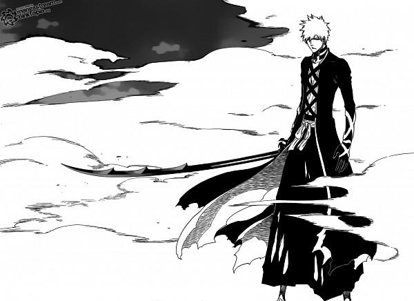 Tags: Anime, Kubo Tite, BLEACH, Kurosaki Ichigo, Bankai, Fog, Scan, Manga Page, Fullbringer, Ichigo Kurosaki