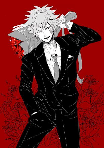 Tags: Anime, Pixiv Id 1033622, Uta no☆prince-sama♪, Kurosaki Ranmaru, Gray Neckwear, Pixiv, Fanart, Fanart From Pixiv, Mobile Wallpaper