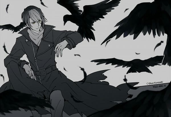 Tags: Anime, Rozy, Yu-Gi-Oh!, Yu-Gi-Oh! ARC-V, Kurosaki Shun, Black Bird, Fanart From Pixiv, Pixiv, Fanart, Shay Obsidian