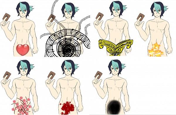 Tags: Anime, Pixiv Id 4478577, Yu-Gi-Oh!, Yu-Gi-Oh! ARC-V, Kurosaki Shun, Pixiv, Fanart, Fanart From Pixiv, Shay Obsidian