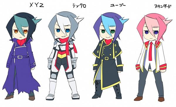 Tags: Anime, Pixiv Id 3842203, Yu-Gi-Oh! ARC-V, Yu-Gi-Oh!, Kurosaki Shun, Fanart From Pixiv, Pixiv, Fanart, Shay Obsidian