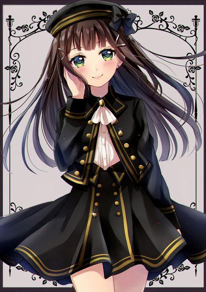 Tags: Anime, Sakura Hiyori (Artist), Love Live! Sunshine!!, Kurosawa Dia, PNG Conversion, Mobile Wallpaper, Dia Kurosawa