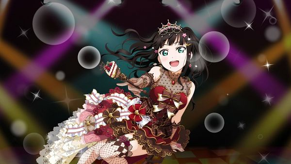 Tags: Anime, Love Live! Sunshine!!, Love Live! School Idol Festival, Kurosawa Dia, Official Wallpaper, Wallpaper, Official Art, Dia Kurosawa