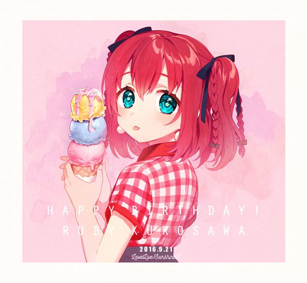 Tags: Anime, Ichinose Yukino, Love Live! Sunshine!!, Kurosawa Ruby, PNG Conversion