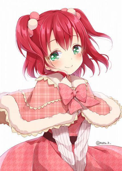 Tags: Anime, Natsu (Pixiv1501671), Love Live! Sunshine!!, Kurosawa Ruby, Mobile Wallpaper