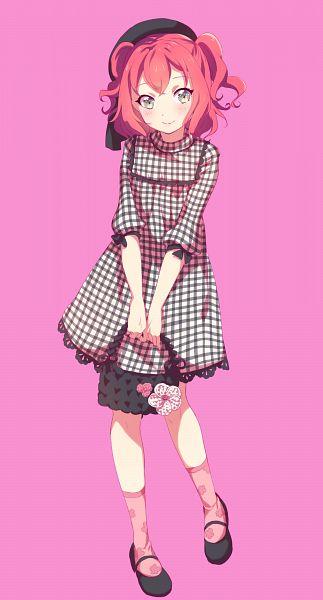 Tags: Anime, Chiigo, Love Live! Sunshine!!, Kurosawa Ruby, PNG Conversion, Mobile Wallpaper