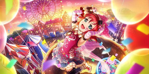 Tags: Anime, KLab, Love Live! Sunshine!!, Love Live! School Idol Festival ALL STARS, Kurosawa Ruby, Official Card Illustration, Official Art, Wallpaper