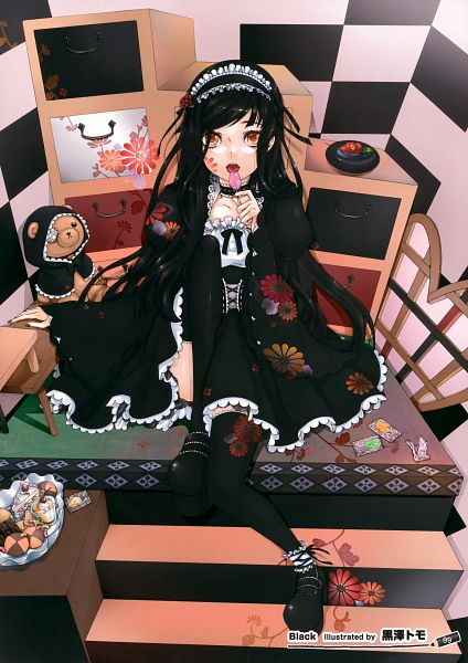 Tags: Anime, Kurosawa Tomo, Girls Girls Girls! 8 -Colorful Girls-, Scan