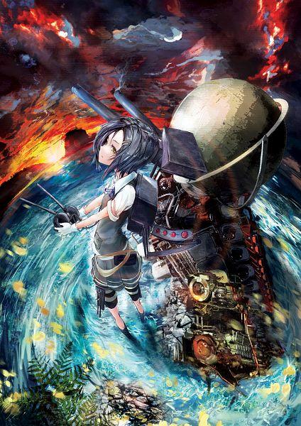 Tags: Anime, Pixiv Id 8793724, Kantai Collection, Kuroshio (Kantai Collection)