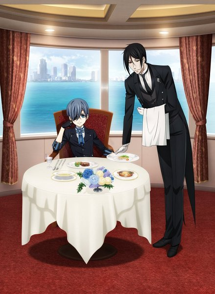 Tags: Anime, Shiba Minako, A-1 Pictures, Kuroshitsuji, Kuroshitsuji: Book Of The Atlantic, Ciel Phantomhive, Sebastian Michaelis, Official Art, Twitter
