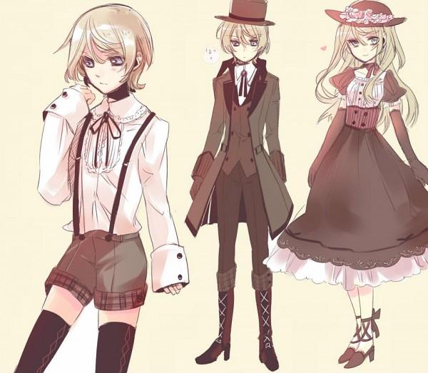 Tags: Anime, Yamada Ako, Kuroshitsuji, Lady Alois Trancy, Alois Trancy, Wig, Black Butler