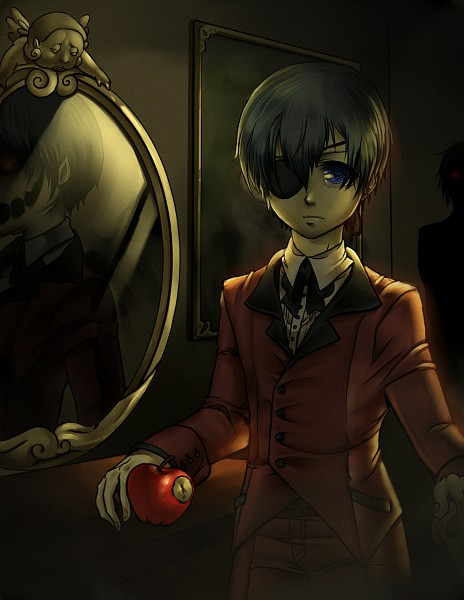 Tags: Anime, Madeleine Elizabeth, Kuroshitsuji, Ciel Phantomhive, Different Reflection, deviantART, Fanart From DeviantART, Fanart, Black Butler