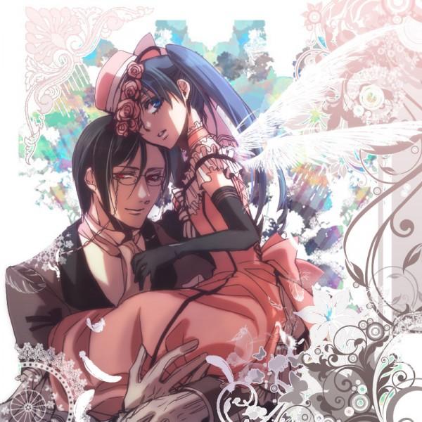 Tags: Anime, Maisie, SQUARE ENIX, Kuroshitsuji, Lady Phantomhive, Ciel Phantomhive, Sebastian Michaelis, Black Butler