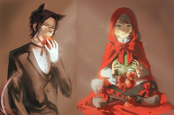 Tags: Anime, Amazon (Artist), Kuroshitsuji II, Kuroshitsuji, Claude Faustus, Alois Trancy, Red Riding Hood (Parody), Big Bad Wolf (Cosplay), Red Riding Hood (Cosplay), Noeud Papilon, Fanart, deviantART, Fanart From DeviantART, Black Butler
