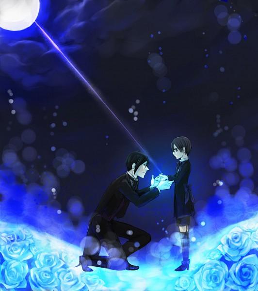 Tags: Anime, SQUARE ENIX, Kuroshitsuji, Sebastian Michaelis, Ciel Phantomhive, Black Butler