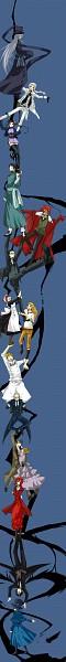 Tags: Anime, Momono, Kuroshitsuji, Bardroy, Undertaker, Charles Grey, Mey-Rin, Grell Sutcliff, Rachel Phantomhive, Finnian, Ciel Phantomhive, Vincent Phantomhive, Ran-Mao, Black Butler