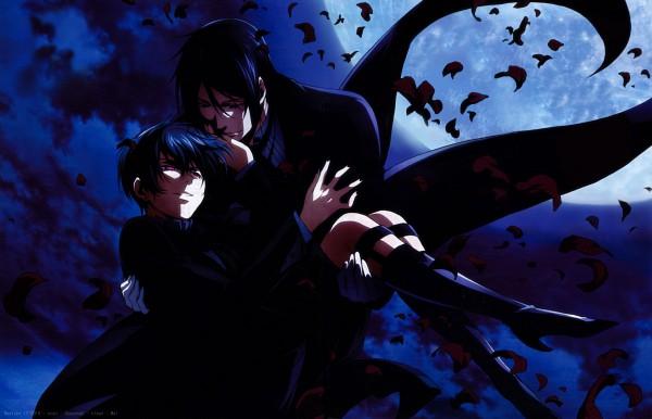 Tags: Anime, Harada Hiroki, SQUARE ENIX, Kuroshitsuji, Ciel Phantomhive, Sebastian Michaelis, Ciel Phantomhive (Demon), Faustian Mark, Eyepatch Off, Magazine (Source), Scan, Black Butler