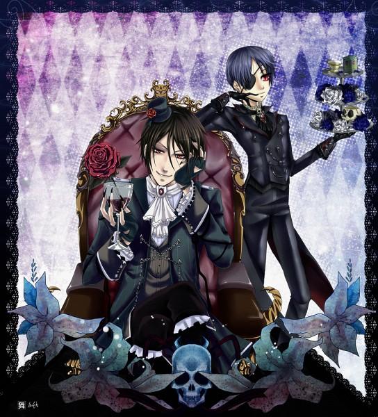 Tags: Anime, KuroMai, Madeleine Elizabeth, Kuroshitsuji, Sebastian Michaelis, Ciel Phantomhive (Demon), Ciel Phantomhive, deviantART, Fanart, Collaboration, Black Butler