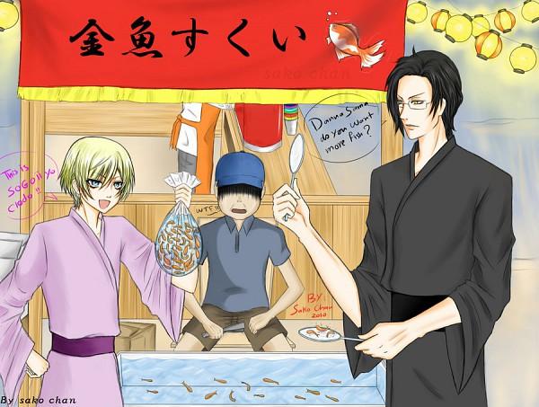 Tags: Anime, Kuroshitsuji, Claude Faustus, Alois Trancy, Goldfish Game, Black Butler
